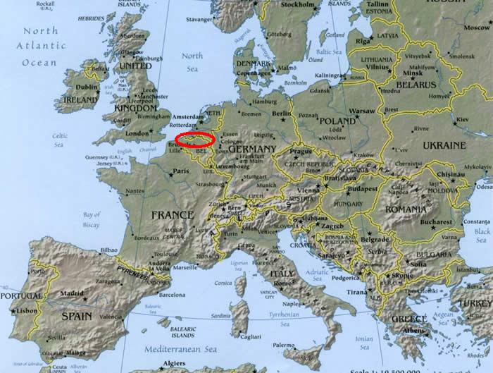Maps of Indo-European Languages-Flemish