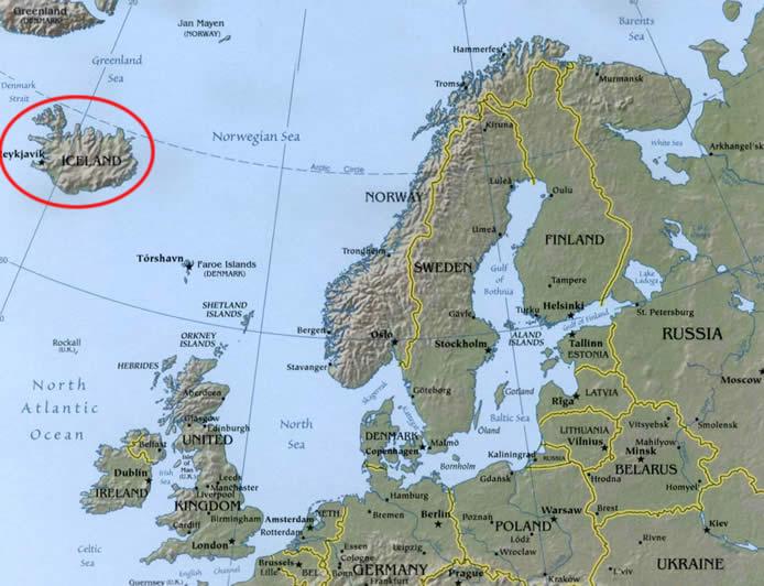 Maps of Indo-European Languages-Icelandic