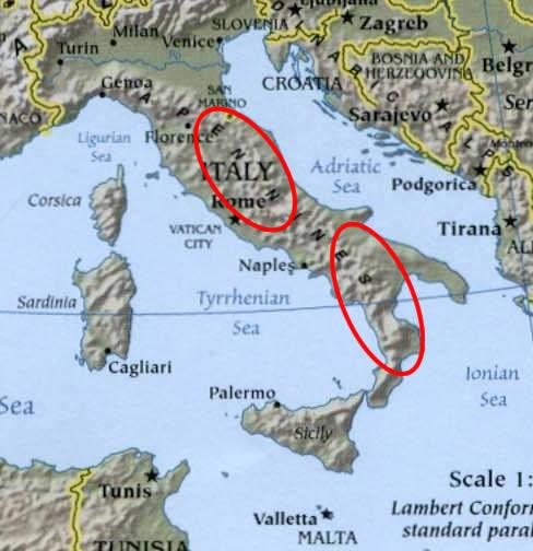 Maps of IndoEuropean LanguagesOscoUmbrian