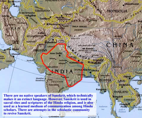 Maps Of Indo European Languages Sanskrit