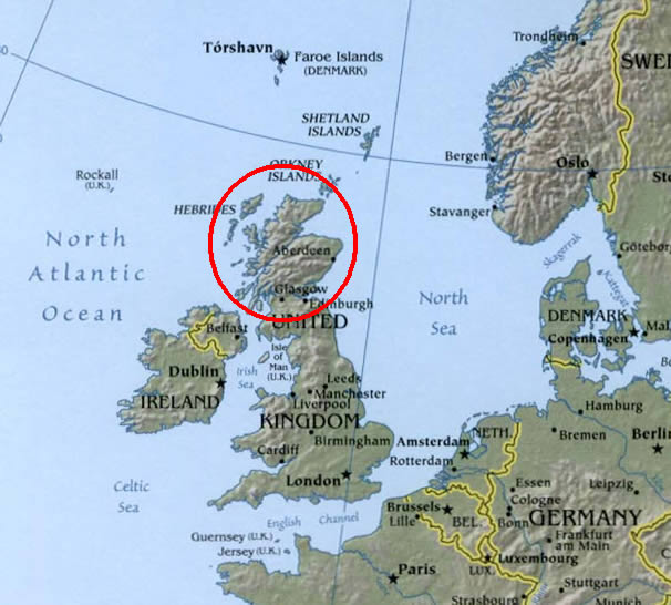Maps of IndoEuropean LanguagesScots Gaelic